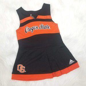 Adidas Oregon State Baby Girl Cheerleading Dress